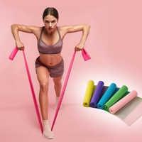 150/180/200CM Fitness Übung Widerstand Bands Gummi Yoga Elastischen Band Widerstand Band Loop Gummi Loops Für gym Training