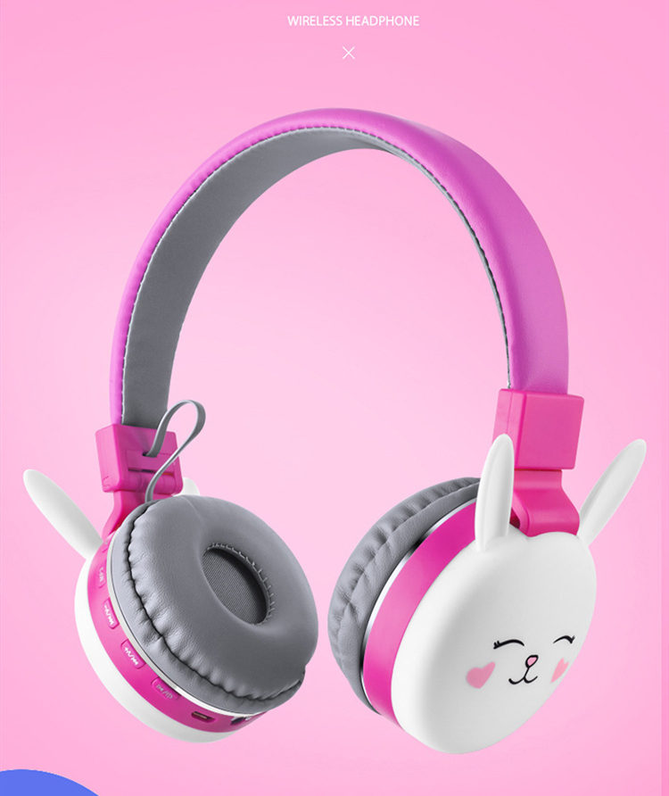 Wireless Cat Ear Headphones Bluetooth Young People Kids Foldable Stereo Headset 3 5mm Plug With Mic Fm Radio Aliexpress