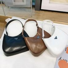 Retro Baguette Bag Women Fashion Soft PU Leather Armpit Bag French Shoulder Bag Luxury Design Small Messenger Handbag Lady Purse