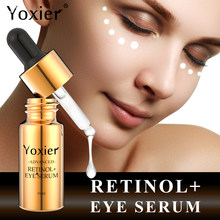 Yoxier retinol olho soro anti envelhecimento creme para os olhos endurecimento levantamento sacos de olho rugas hidratante anti-inchaço remover círculos escuros