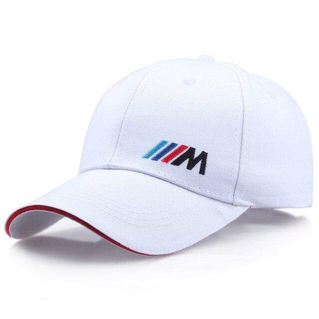 Men Fashion Cotton Car logo M performance Baseball Cap hat for BMW M3 M5 3 5 7 X1 X3 X4 X5 X6 330i Z4 GT 760li E30 E34 E36 E38 3