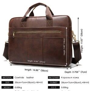 Image 3 - WESTAL erkek evrak çantası erkek çanta hakiki laptop çantası deri erkek ofis çantaları erkekler için deri evrak çantası belge A4 8523