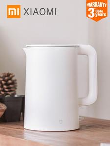 Электрический чайник Xiaomi Mijia, быстро закипающий чайник из нержавеющей стали, самовар, кухонный чайник для воды емкостью 1,5 л, изолированный, ...