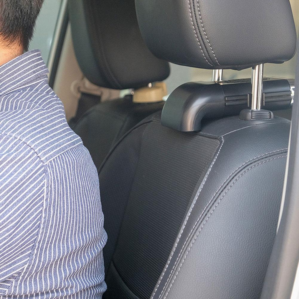 Mini Car fan 3 speed silent strong wind cooling fan car USB powerful rear multifunctional accessory