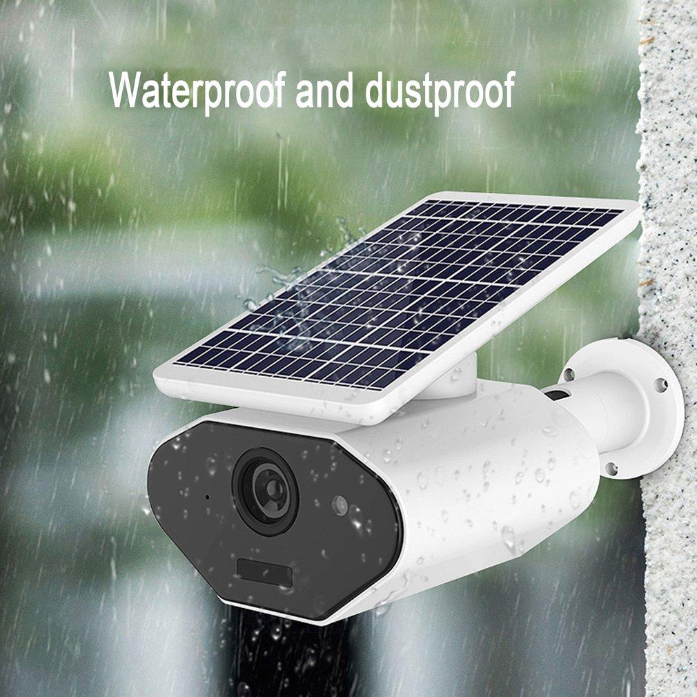VS-L4 WIFI Waterproof Solar Camera Wireless Intelligent Security Surveillance Camera Night Vision Audio CCTV