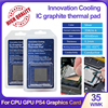 Innovation Cooling IC graphite thermal pad  35W/m-k Thermal Silicone Pad For CPU GPU PS4 Motherboard Graphics Card Cooler ICG30
