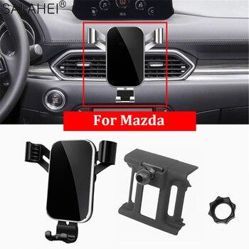 Мобильный телефон держатель для Mazda CX-5 2017 2018 2019 крепление на приборную панель GPS Держатель-зажим для мобильного телефона в автомобиль для IPhone 11 Xiaomi Huawei