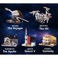 3D пазл из картонной бумаги «сделай сам», модель для строительства ISS GMT, забавные развивающие игрушки, подарки, игрушки для детей, семейные иг...