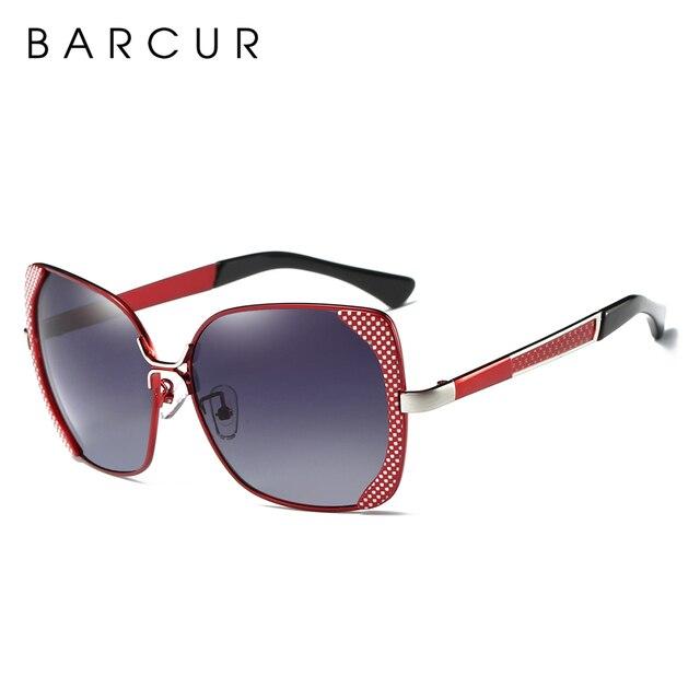 BARCUR Luxury Brand Polarized Sunglasses Women shades Sun glasses