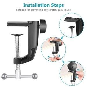 Image 5 - Mikrofon standı ayarlanabilir süspansiyon bom kolu ile yaylı ses kaydı için