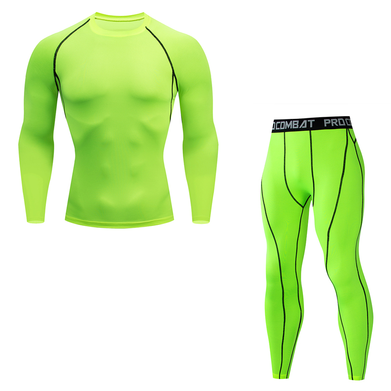 Brand New Men Thermal Underwear Sets Compression Fleece Sweat Quick Drying Thermo Underwear Men Clothing Long Johns