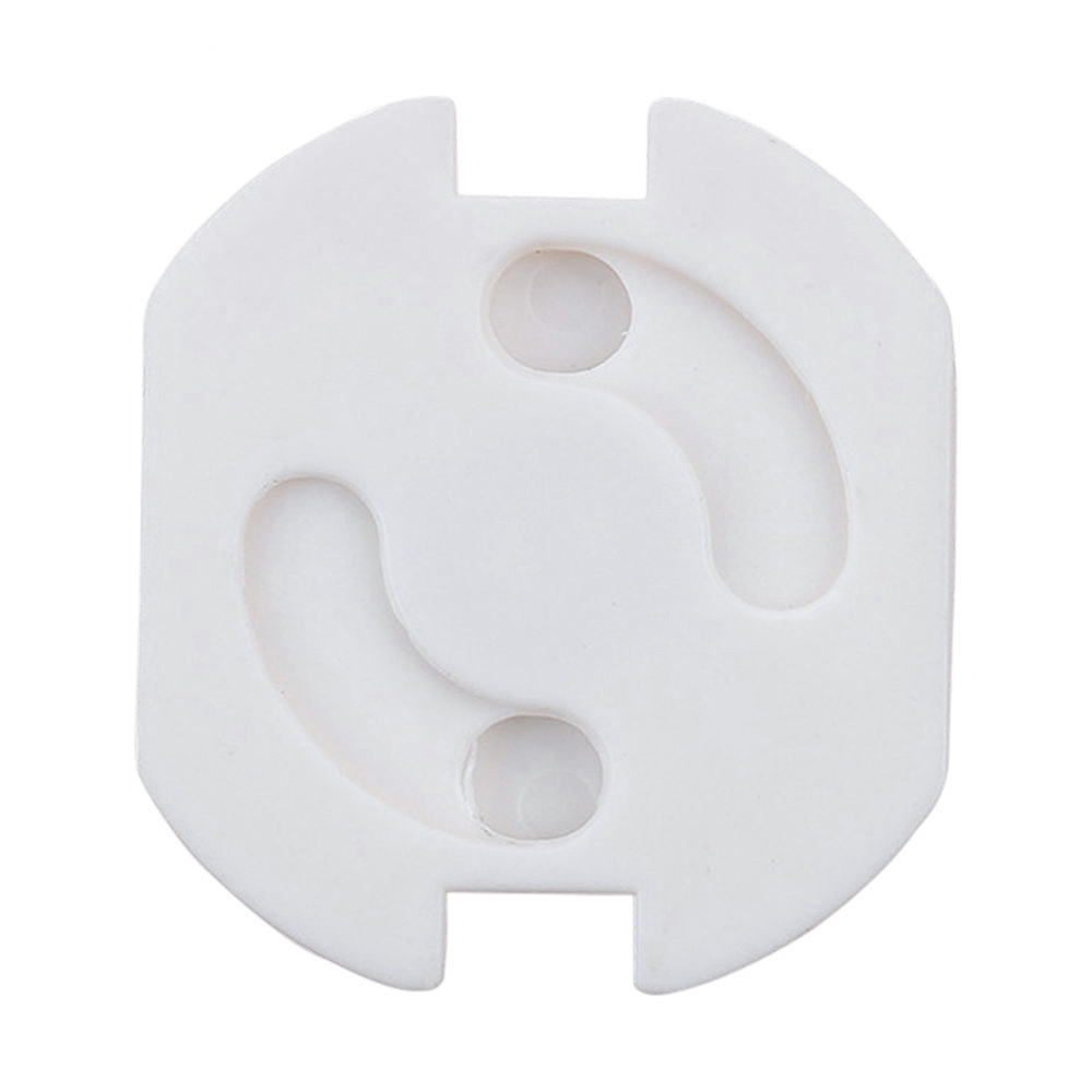 Socket Protector Baby Safety Socket Cover Anti-shock For EU Power Socket Brand New White