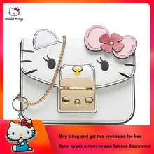 New Genuine Leather Buckle Women Shoulder Bag Famous luxury Brand Pure Color Chain Flap Bag for Female with Cotton Lining color block flap chain bag