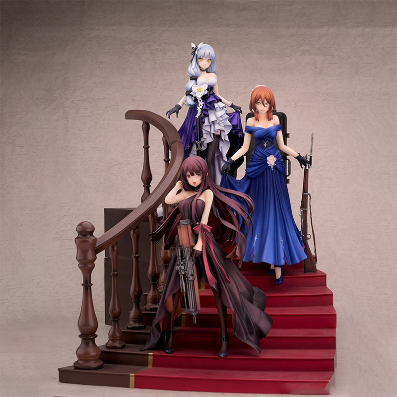 <font><b>Japan</b></font> Girls' Frontline Springfield Queen Under the Glim PVC Action <font><b>Figure</b></font> <font><b>Anime</b></font> <font><b>Sexy</b></font> Girl <font><b>Figure</b></font> Model Toys Collection <font><b>Doll</b></font> Gift image
