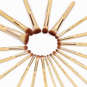 Image 5 - Jessupแปรงไม้ไผ่ 20pcs Professionalแปรงแต่งหน้าแปรงแต่งหน้าMake up Brush Tools Kitแป้งรองพื้นFoundation PowderแปรงEye Shader