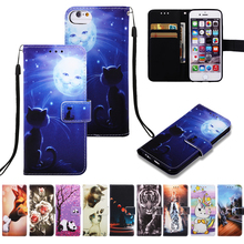 Mermaids Cartoon Wallet Flip Case For Huawei Mate 20 Lite P Smart Y6 2019 Honor 10 Lite Play 8A 8A Leather Phone Bag Case Cover