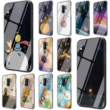 Little Prince Tempered Glass Phone Case for Samsung