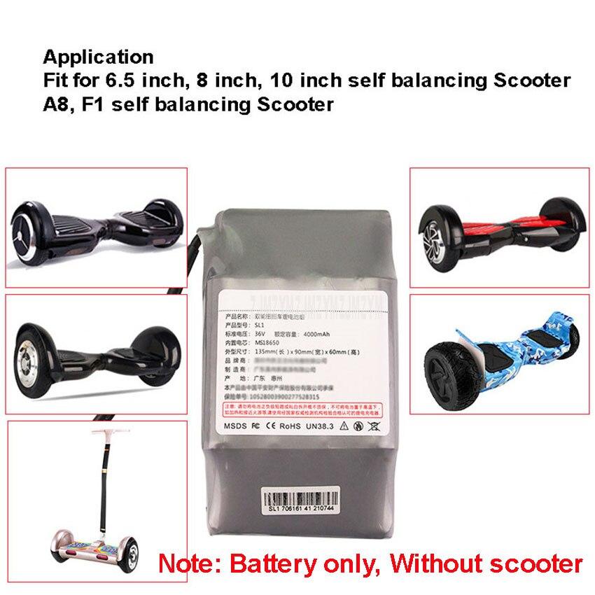 bateria de lítio para 6.5 8 10