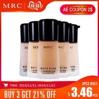 MRC couverture complète maquillage liquide correcteur blanchissant hydratant contrôle de l'huile fond de teint liquide imperméable