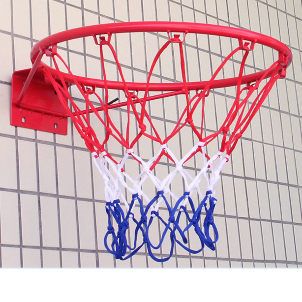 Indoor And Outdoor Basketball Box Sports Luxury White Basketball Net Durable And Durable For Standard Basket