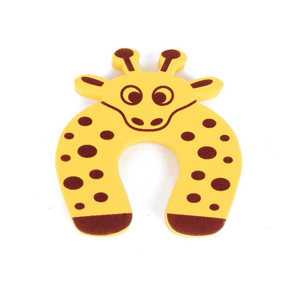 Baby Kids Animal Cartoon Jammers Stop Safety Care Protection Silicone Gates Doorways Door Stopper Holder Finger Protect Guard