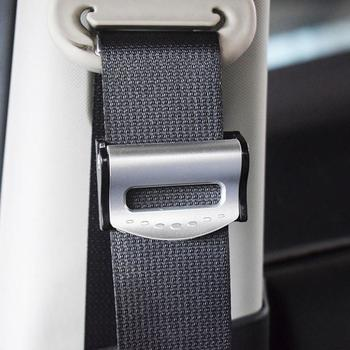 Car Interior 2Pcs Car Safety Seat Belt Buckle Clip Seat Belt Stopper Adjuster Clip To Relax Shoulder Car Strap Auto interior image