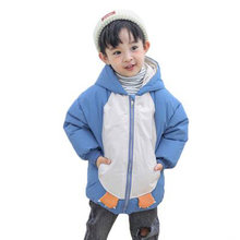 Зимнее пальто для мальчиков; Детская одежда; куртка с длинными