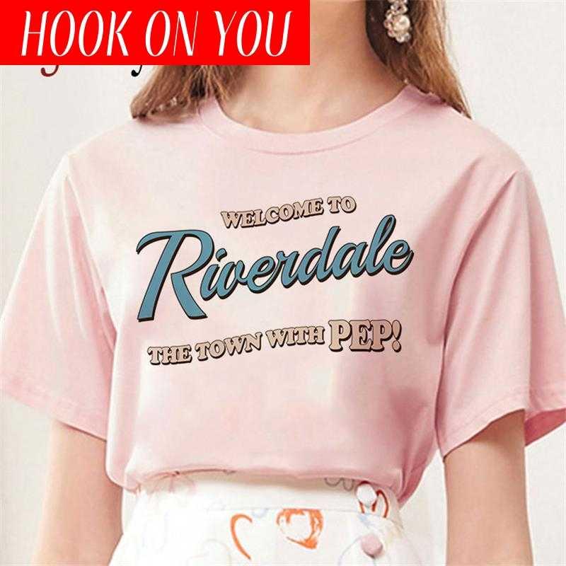 2020 ニューサウスサイド蛇 tシャツ女性 sumemr riverdale プラスサイズ o-ネック tシャツヘビプリントオムストリートクールな tシャツ