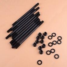 CITALL черный железный головной комплект ниппеля Подходит для Honda Acura GSR B18C1 B18C5 B20VTEC LSVTEC 208-4303