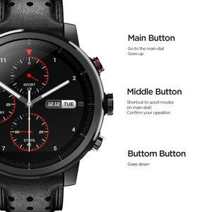 Image 5 - 2019 yeni Amazfit Stratos + profesyonel akıllı saat hakiki deri kayışı hediye kutusu safir 2S Android iOS telefon için