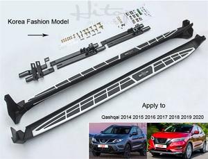 Image 3 - Hot Verkoop Treeplank Side Step Side Bar Voor Nissan Qashqai 2014 2020, Vier Modellen, professionele Verkoper Op Suv Side Stap 5 Jaar