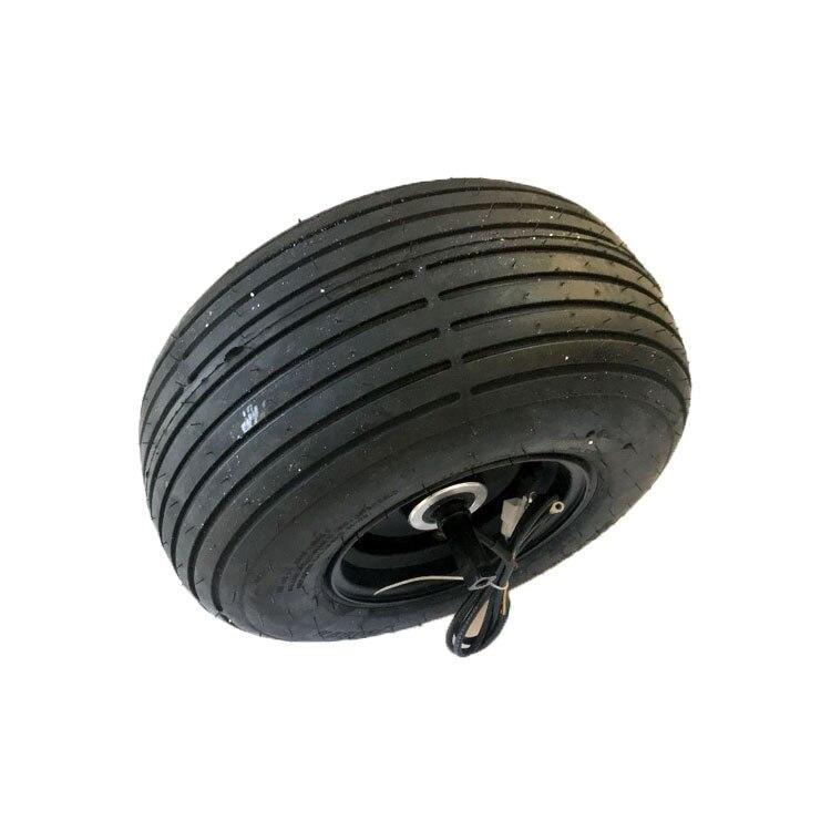 Motor de buje para patinete eléctrico, rueda ancha con neumático 18X9.5-8, 1000W, 2000W, 48V, 60V, certificado CE