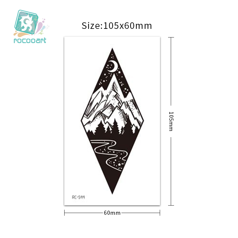 RC-536~555自然元素纹身贴主图++++
