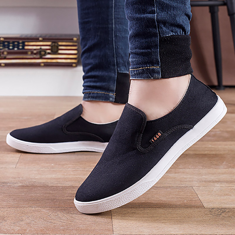 Baby Denim Hight Cut Flat Flattie Shoes Sneaker Anti-slip Soft Sole Toddler