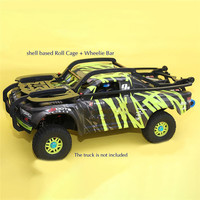 Roll Cage Shell Based Roll Cage & Wheelie Bar for 1/7 ARRMA MOJAVE RC Car Upgrade Parts