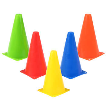 10pcs 9 Inch Plastic Training Cone
