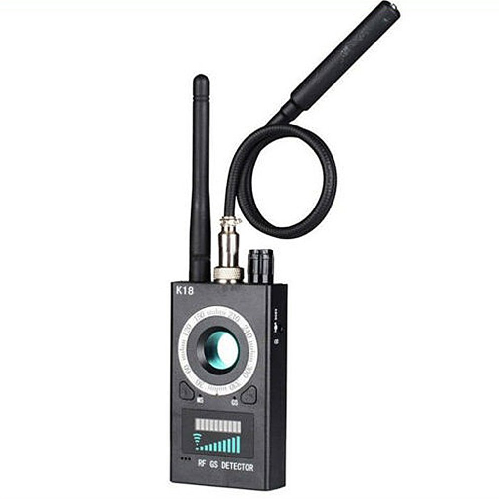 1MHz-6.5GHz K18 Multi-function Anti-spy Detector Camera GSM Audio Bug Finder GPS Signal Lens RF Tracker Detect Wireless Products
