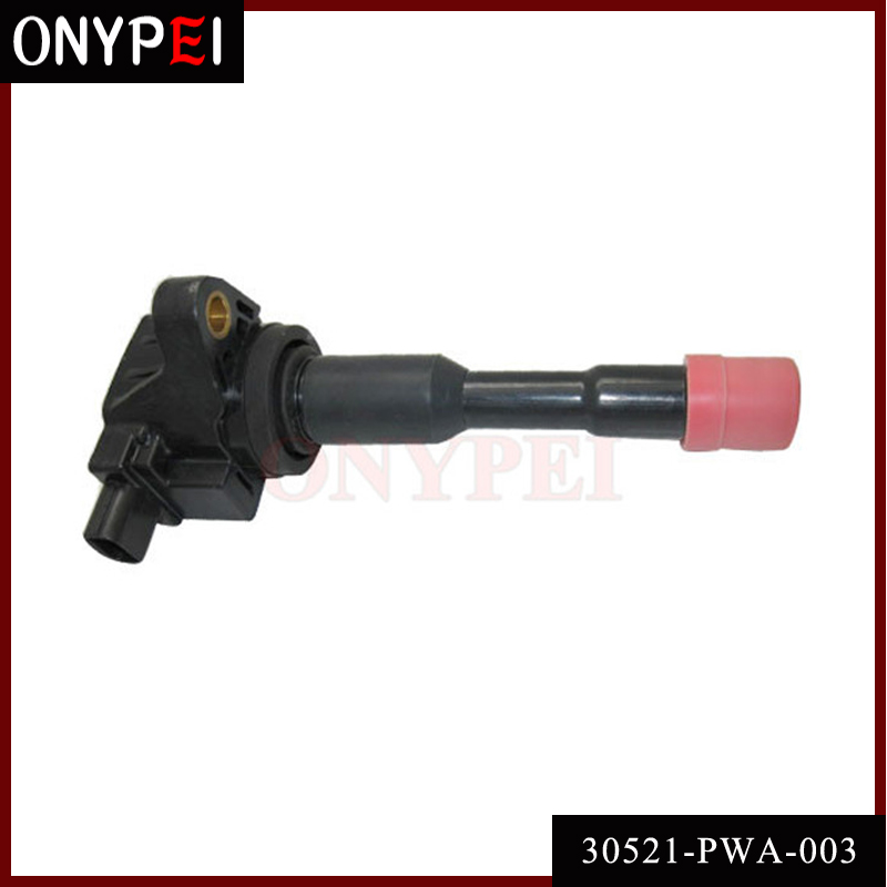 Ignition Coil 30521-PWA-003 For Honda Civic Hybrid Sedan 1.3L L4 <font><b>30521PWA003</b></font> CM11-108 image