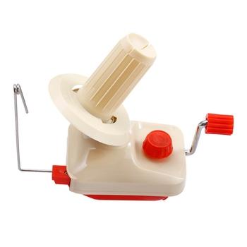 Maszyna do nawijania wełny z małymi dłońmi maszyna do nawijania wełny w pudełku Swift przędza fibre String Ball motak do nawijania wełny uchwyt do gospodarstwa domowego tanie i dobre opinie Knitting CN (pochodzenie) Other Z tworzywa sztucznego