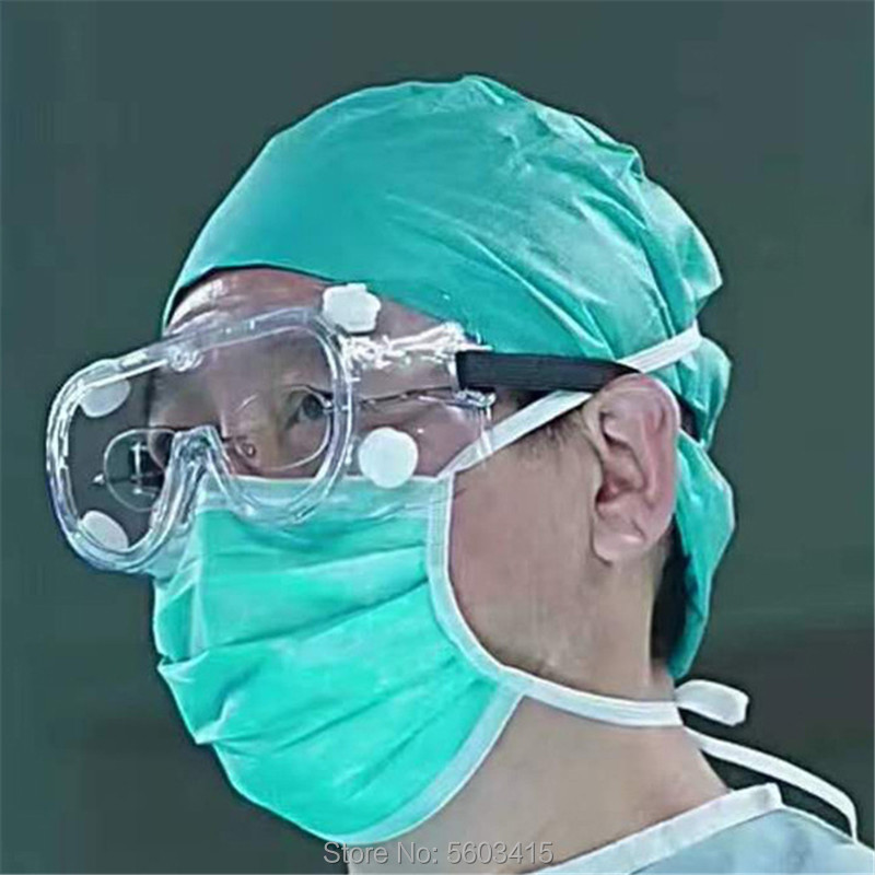 Anti-virus Safety Goggles Anti-fog Dust-proof Splash-proof Glasses Working Eye Protection Glasses Industrial Work Safety