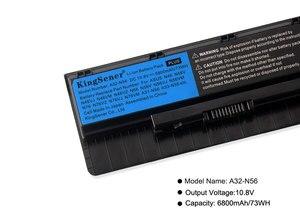 Image 5 - Kingsener A32 N56 Laptop Battery for ASUS N46 N46V N46VJ N46VM N46VZ N56 N56V N56VJ N56VM N76 N76VZ A31 N56 A33 N56