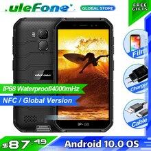 Ulefone鎧X7アンドロイド10頑丈なスマートフォンIP68防水携帯電話2ギガバイト16ギガバイトクアッドコアnfc 4 4g lteグローバル携帯電話