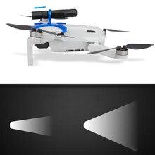 אור וייט LED אור עבור DJI Mavic מיני Drone לילה טיסה זרקור בהיר מתכוונן פנס חשמלי לפיד אבזר