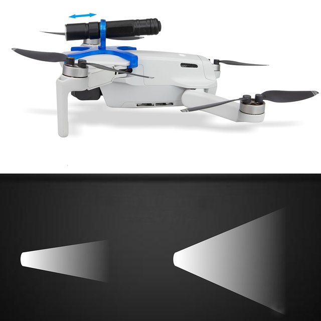 Light Wight LED Light for DJI Mavic Mini Drone Night Flight Searchlight Bright Adjustable Flashlight Electric Torch Accessory