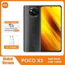 Xiaomi – Smartphone POCO X3, Version globale, NFC, 6 go 64 go/128 go, Snapdragon 732G, 6.67 pouces, caméra 64mp, 33W, Charge rapide, batterie 5160mAh
