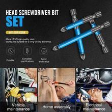 Anti-slip Screwdriver Head Drill Bit For Electric Screwdriver Cross bit drill Head Hand Tools Anti Slip Hex Shank Magnetic