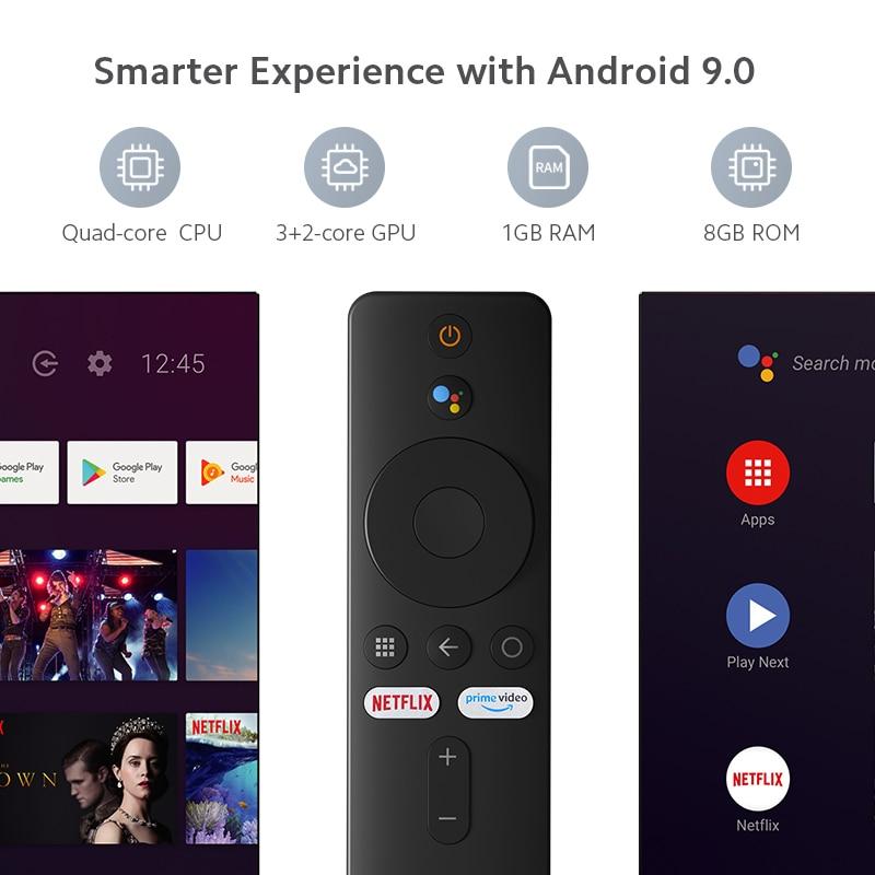 lowest price Original Global Xiaomi Mi TV Stick Android TV 9 0 Quad-core Dolby DTS HD Dual Decoding 1GB RAM 8GB ROM Google Assistant Netflix