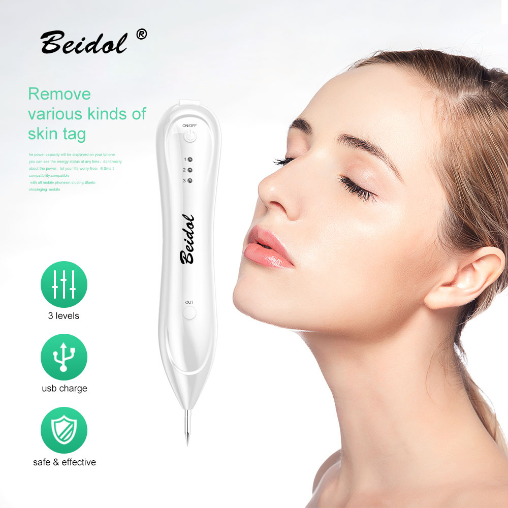 Laser Freckle Removal Machine Skin Mole Removal Dark Spot Remover For Face Wart Tag Plasma Tattoo Remaval Pen Beauty Tattoo