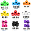 Skateboard 60MM PU Flash Wheel 78A Long Board Wheels ABEC-9 Bearing Spacers Set Skate Board Scooter DIY Parts Repalcement Supply