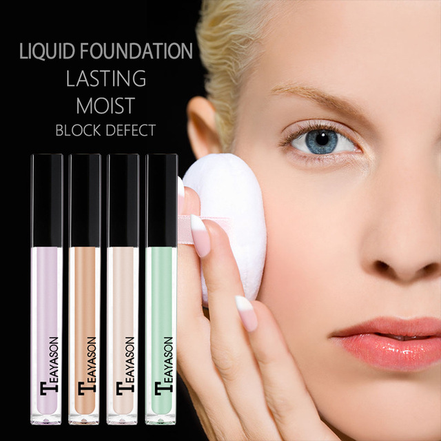 Face Makeup Liquid Concealer Eye Dark Cream Corrector Waterproof Long Last Base Concealer Brighten Primer BB Cream Cosmetics Set 1